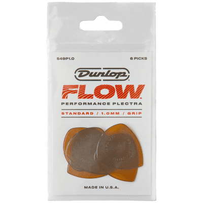 Dunlop Flow Standard Picks 6-Pack, 549P - 1.0
