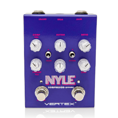 NEW! Vertex Effects Nyle Compressor and Pre-Amp FREE SHIPPING!