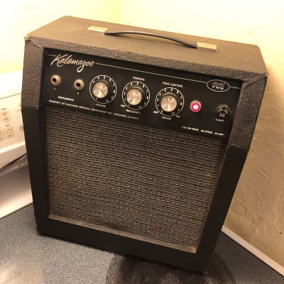 Kalamazoo Model Two Amp Black Panel, all tube, 60s- clean! for sale