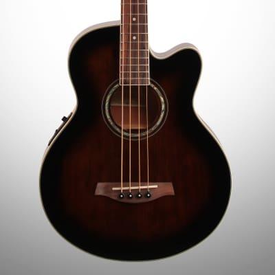 Ibanez AEB10EDVS Spruce / Sapele 4-String Acoustic Bass