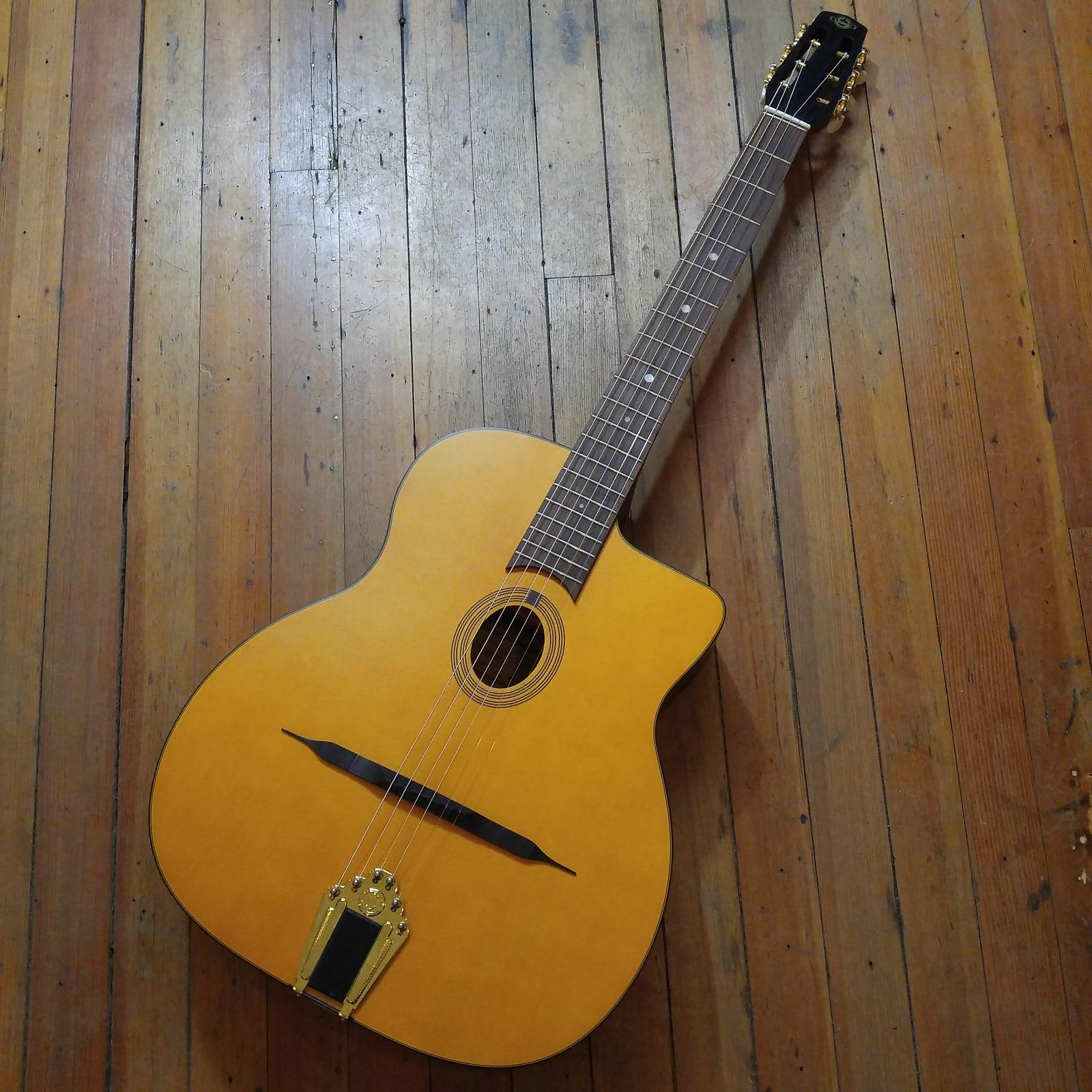 Cigano GJ-0 Petite Bouche Gypsy Jazz Guitar #14441