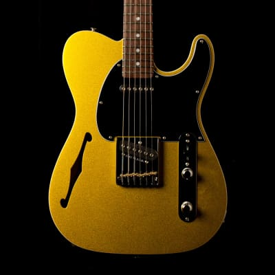 G&L Asat Classic Semi Hollow Yukon Gold Metallic for sale