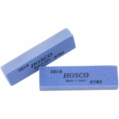 NEW (2) Hosco Fret Polishing Rubbers Tool 180 Grit FSR180 Made in Japan - BLUE for sale