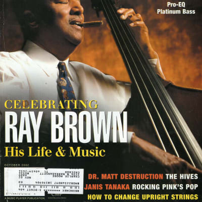 Bass Player 2002 Ray Brown Les Claypool Dave Pomeroy David Piltch Hives Janis Tanaka Night Ranger