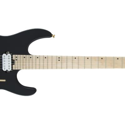 Charvel Pro-Mod DK24 HH FR M Electric Guitar - Maple, Black for sale
