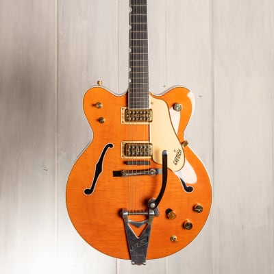 Gretsch 6120DC / 6120-1962 Double Cut - 2003 Dyna Gakki - case candy - TV Jones Classic Filtertrons for sale