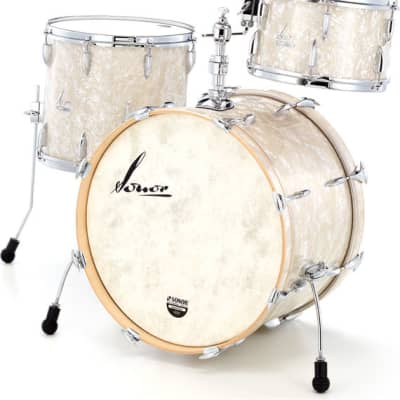 """Sonor Vintage Series 3pc Shell Pack with Mount 22"""" x 14"""" / 13"""" x 8"""" / 16""""x14""""  -   With Free HS-LT-2000 Hardware Pack, DT-2000 Drum Throne and TA4000 w/MH-MC Multi Clamp"""