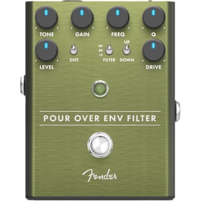 Fender Pour Over Envelope Filter and Distortion Pedal for sale