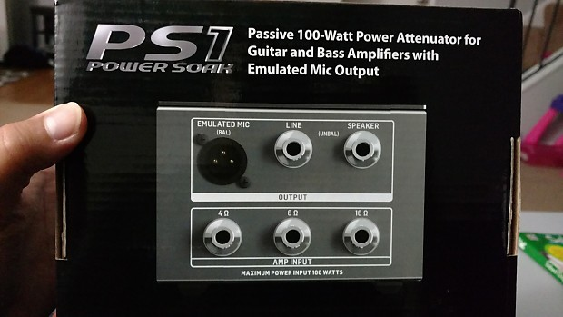 Bugera Ps1 Power Soak 100w Attenuator Jason S Shop Reverb