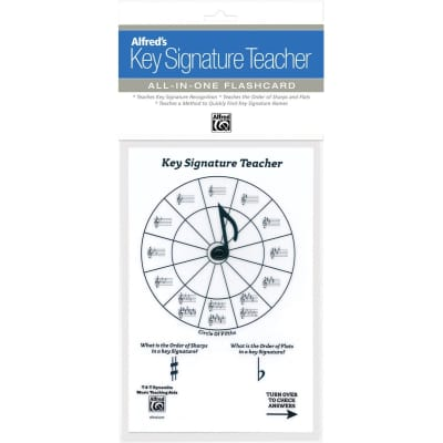 Alfred's Key Signature Teacher: All-In-One Flashcard