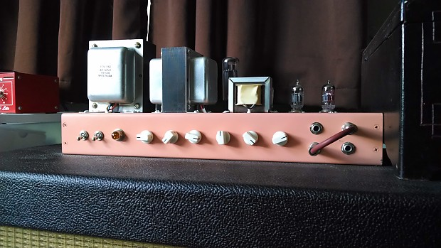 Hand Built 1987 Plexi Clone W One Wire Mod And Ppimv Reverb