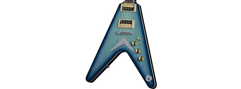 dean guitars 6 string electric guitar blue burst v 79 bb reverb. Black Bedroom Furniture Sets. Home Design Ideas