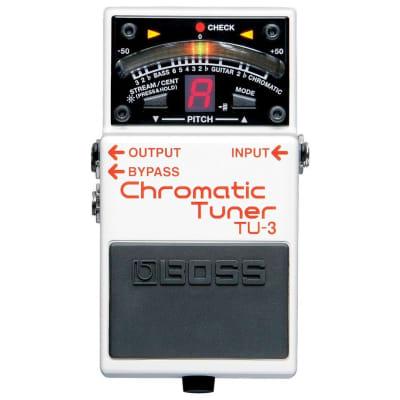 BOSS TU3 Chromatic Tuner Guitar Pedal for sale