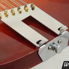 Left-handed 12-string trapeze tailpiece conversion kit for Rickenbacker guitars