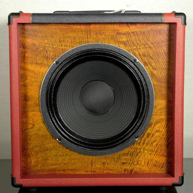 Tonewood Oversized 1x12  Mango Sunburst  w/ Attenuator & 100W Celestion G12 K100 Driver- image