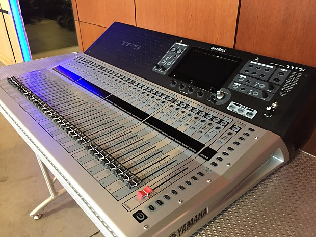 yamaha tf5 digital audio mixer open box demo free reverb. Black Bedroom Furniture Sets. Home Design Ideas