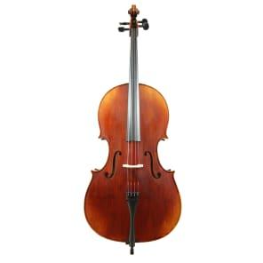 Rosalia Cello, Beginner Plus Level, Seasoned Spruce Top and Maple Back, 4/4