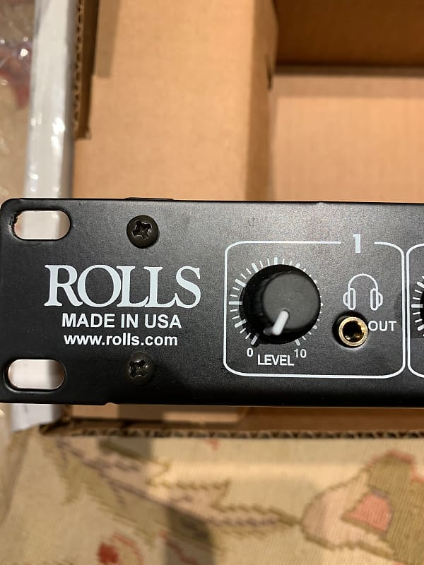 Rolls Ra102 10 Channel Rackmount Headphone Amp With Power