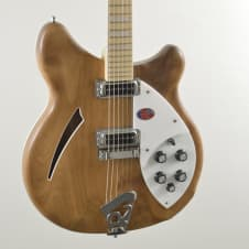 Rickenbacker 360 Walnut brand new for 2014 satin finish no gloss neck AWESOME! image