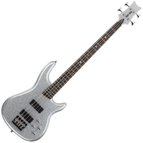 Daisy Rock DR6772 Rock Candy Bass Guitar, Diamond Sparkle for sale