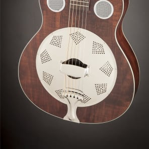 Fender Brown Derby Resonator Natural