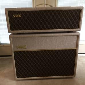 Vox AC30HWH and V212HWX 30-Watt 2x12 Blue Alnico Guitar Half Stack
