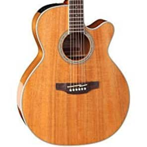 Takamine GN77 KCE ALL KOA Acoustic Electric Guitar w Pickup and Cutaway for sale