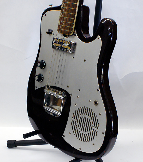 rare vintage silvertone 1487 electric guitar from the sixties reverb. Black Bedroom Furniture Sets. Home Design Ideas