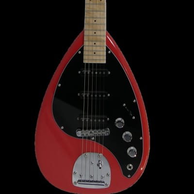 Revelation VX-64 M Fiesta Red Electric Guitar for sale