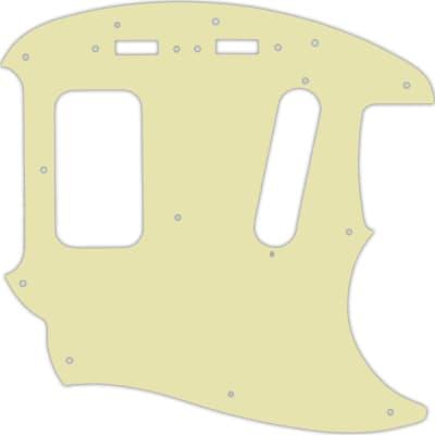 WD Custom Pickguard For Fender Kurt Cobain Mustang #34S Mint Green Solid