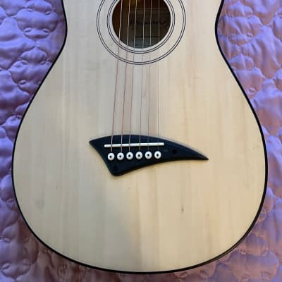 Dean Playmate Acoustic Guitar Natural 3/4 Size - Great for Travel, Kids or Beginners - Excellent Condition for sale