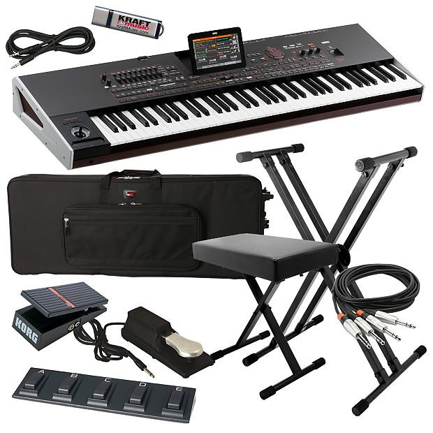 Korg Pa4X ORIENTAL 76-Key Arranger Keyboard STAGE ESSENTIALS BUNDLE