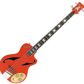 "Italia Maranello ""Z"" Electric Bass Guitar - Red"