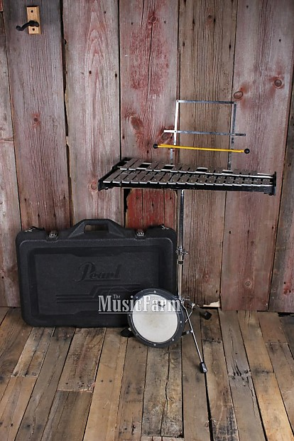 pearl student bell kit percussion with practice pad music reverb. Black Bedroom Furniture Sets. Home Design Ideas
