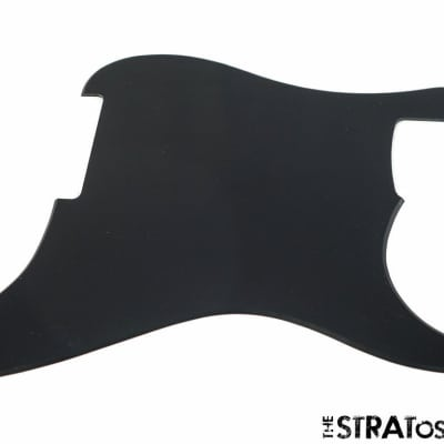*NEW Black *UNROUTED* Stratocaster PICKGUARD for Fender Strat 1 Ply