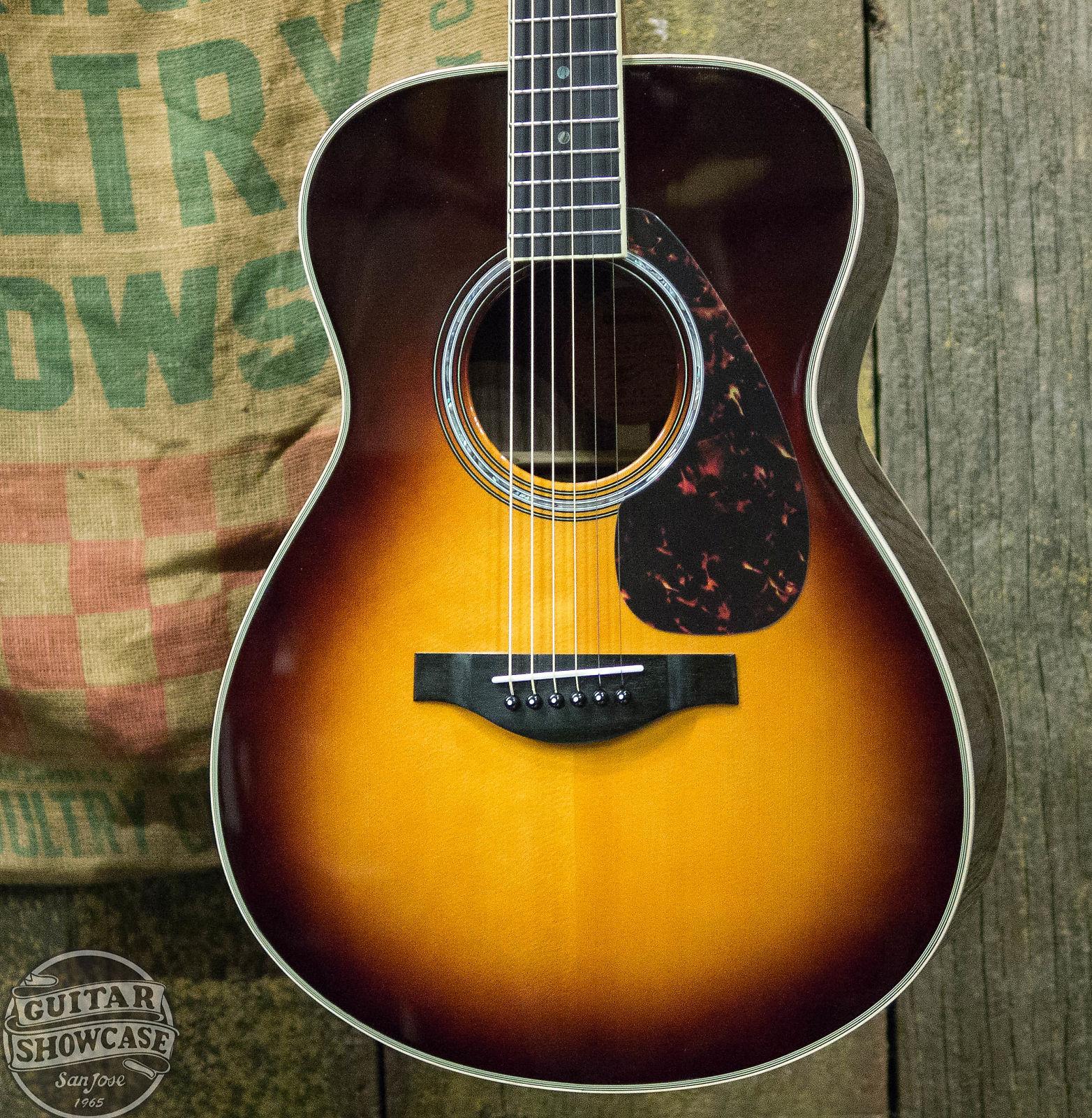 0cd7aadd3bd Yamaha LS16 ARE Acoustic Guitar in Brown Sunburst