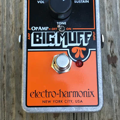 Pre-Owned Electro-Harmonix Op-Amp Big Muff Pi Distortion/Sustainer OpAmp Used