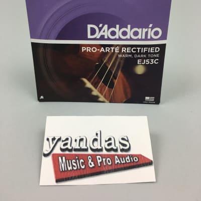D'Addario EJ65C Pro-Arte Extruded Concert Ukulele Strings
