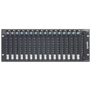 Speck Electronics VF16M via Fader 16 Outboard Fader System