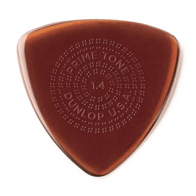 Dunlop 512R14 Primetone Tri Grip 1.4mm Triangle Guitar Picks (12-Pack)