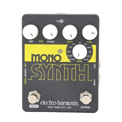 Electro Harmonix Mono Synth Guitar Monophonic Synthesizer for sale