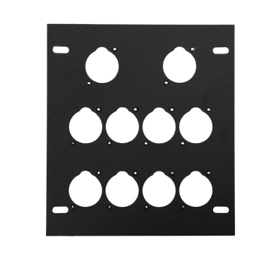 Elite Core FB-PLATE10 Unloaded Plate for Recessed Floor Box