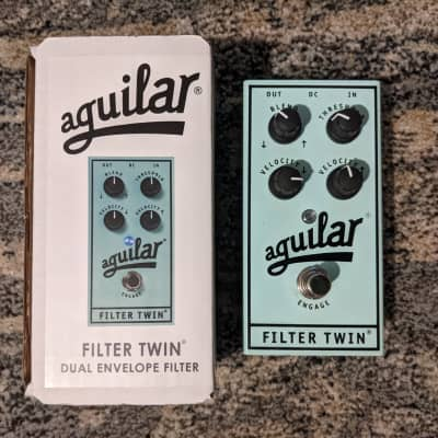 Aguilar Filter Twin Dual Envelope Bass Filter Pedal