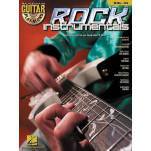 Hal Leonard Rock Instrumentals: Guitar Play-Along Volume 93