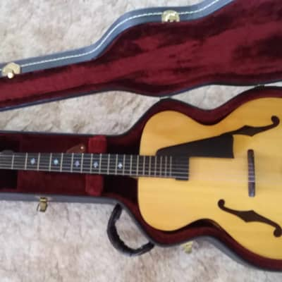 DeVoe 17 inch Jazz Archtop Guitar 1998 Blond...all solid woods, all handmade for sale