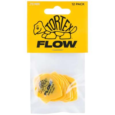 Dunlop Tortex Flow Picks 12-Pack, 558P - .73