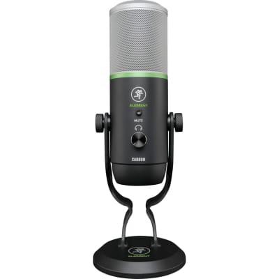 Mackie EM-CARBON EleMent Series Large Diaphragm Multipattern USB Condenser Microphone