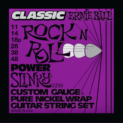 Ernie ball Classic Pure Nickel Guitar Stings Slinky Power 11 - 48 for sale
