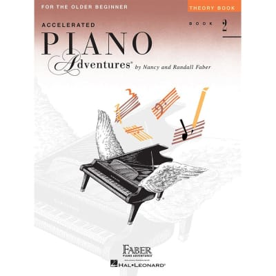 Accelerated Piano Adventures for the Older Beginner - Theory Book 2