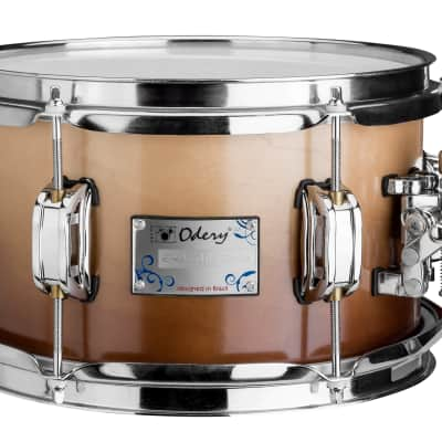Odery 14 x 7  Snare Drum - Maple, Imbuia Fade
